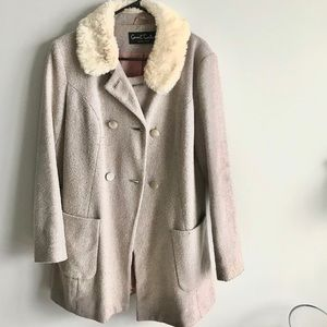 Covent Garden Stylish 12 Size Beige Coat